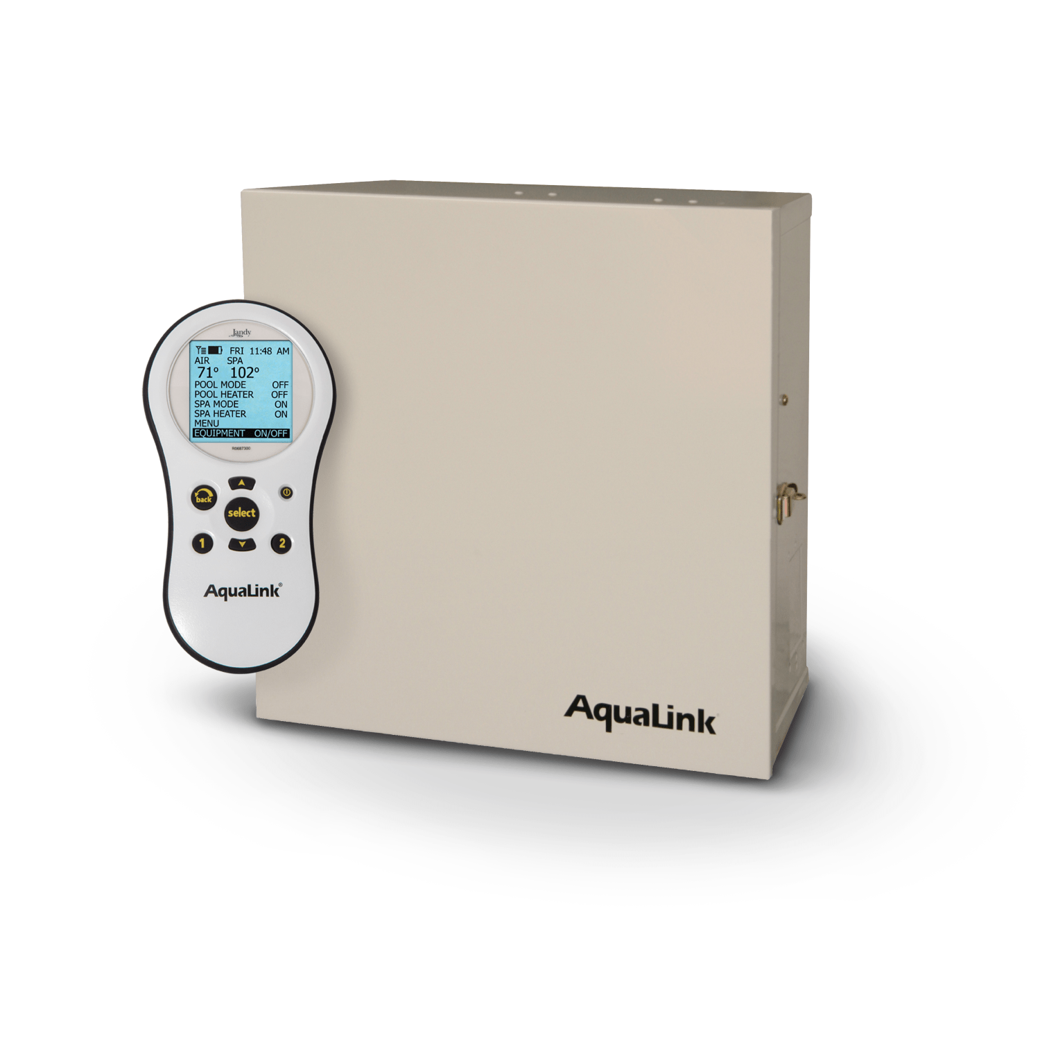 Aqualink Pda Jandy Pro Series Wireless Remote Control Kit Diagram For A Full Size Pool Automation System Handheld