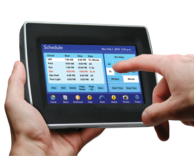 AquaLink Touch Swimming Pool Automation