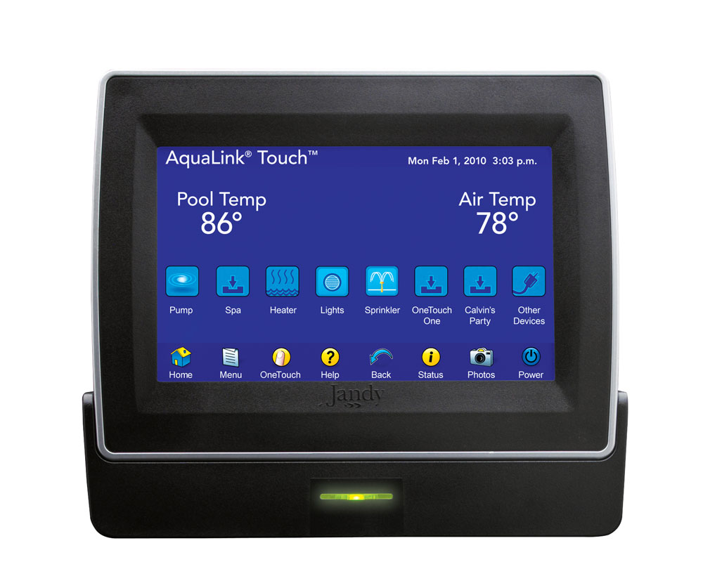 Touch jandy pro series Best swimming pool automation system