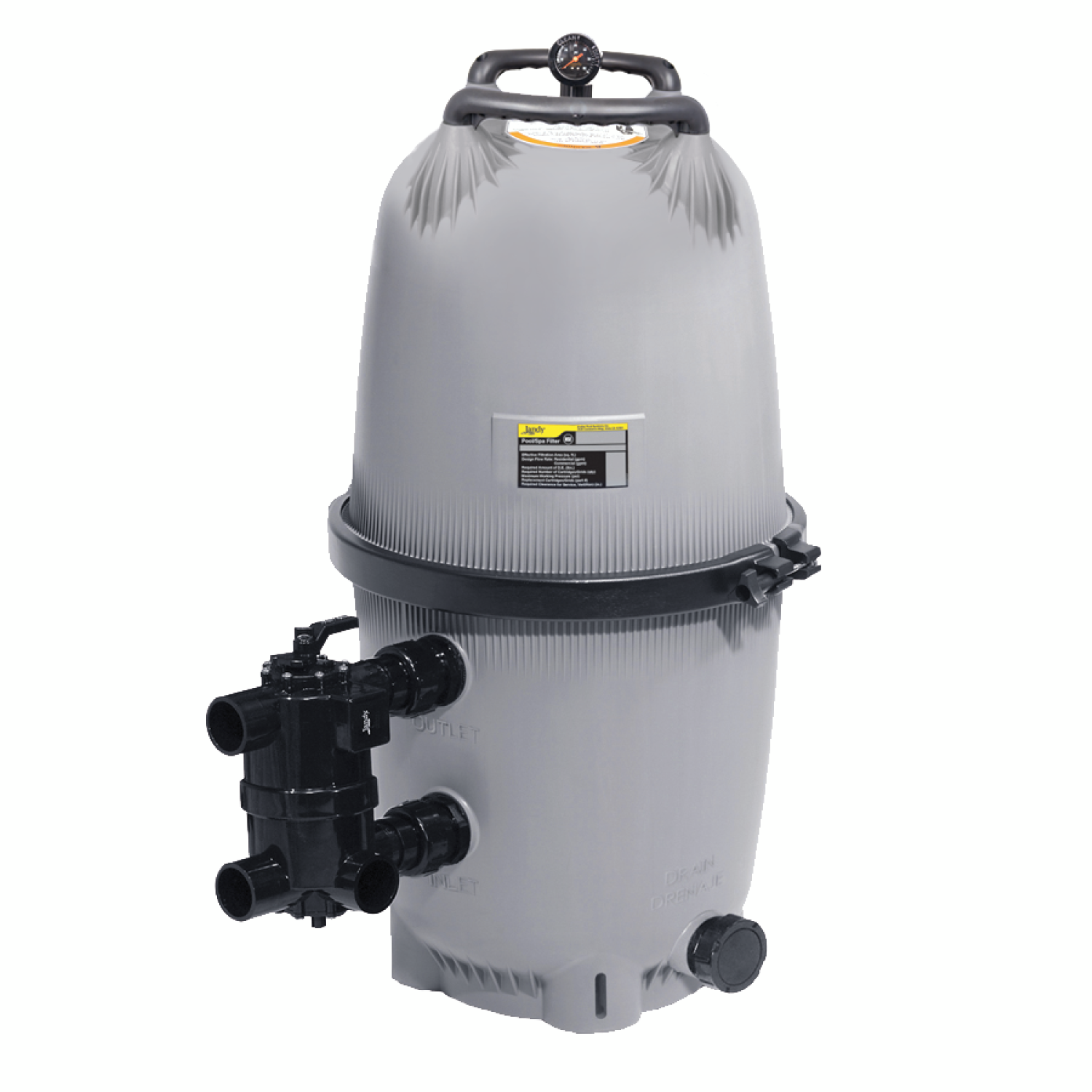 Dev diatomaceous earth filter jandy pro series for Diatomaceous earth substitute for swimming pools