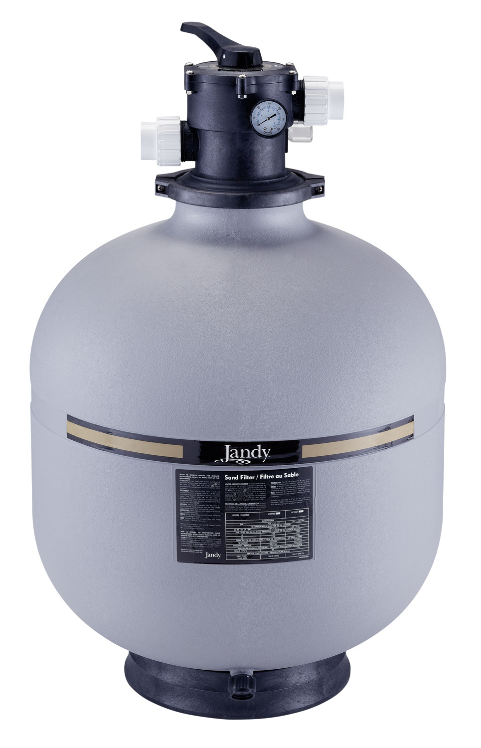 Jandy Pro Series SFTM Top Mount Pool Sand Filter