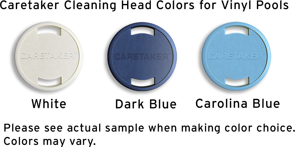 Caretaker Vinyl Head Colors