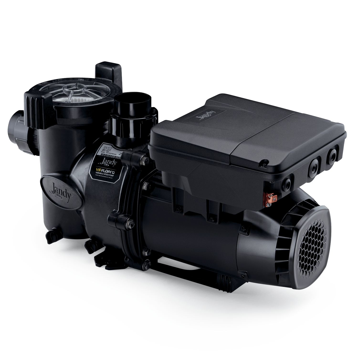 Jandy VS FloPro 1.85 HP Pump side view