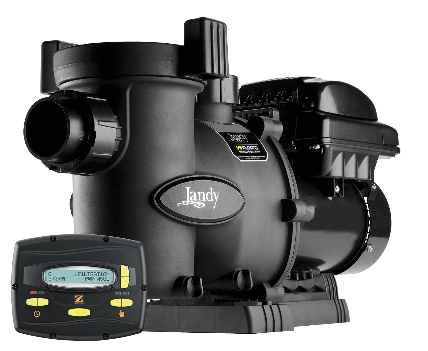 VS FloPro 0.85 HP pump with JEP-R controller