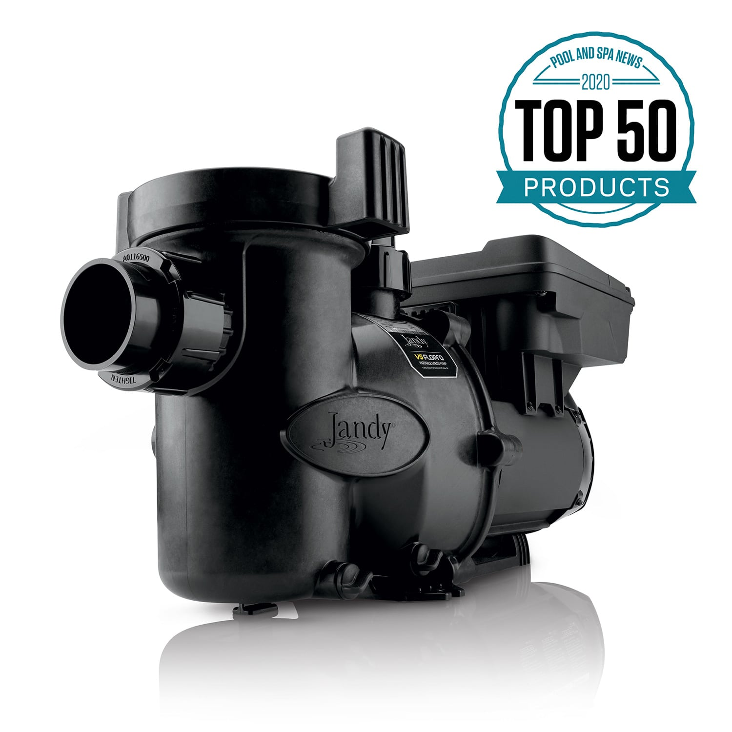 VS FloPro 2.7 HP DV2A Variable-Speed Swimming Pool Pump