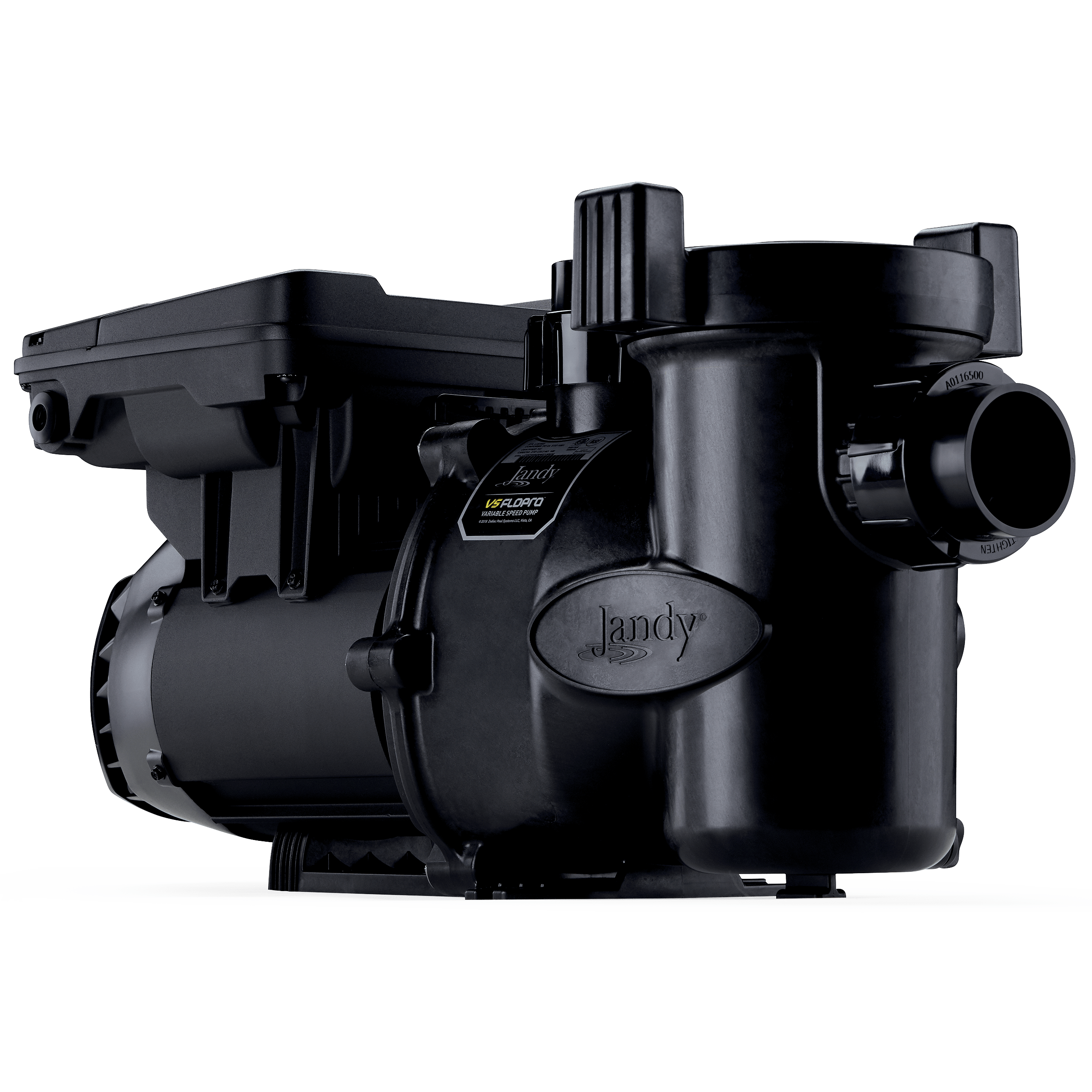 VS FloPro 2.7HP DV2A Pump Side View