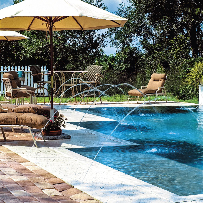 Minijet jandy pro series for Pool jets design