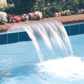 Sheer Arc Waterfall Pool Water Feature
