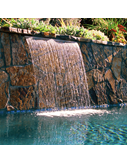Sheer Rain Waterfall Pool Water Feature