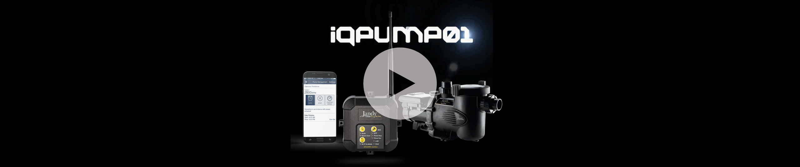 iQPUMP01 Pool Pumps Automation Video